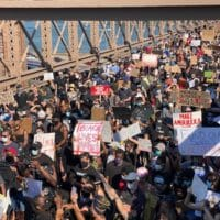 BLM protest in New York City on June 9, 2020 (Photo: Wikimedia Commons)