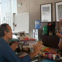 Daniel Jadue speaks to Vijay Prashad.ƒ