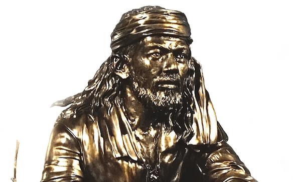 Sculpture of Enrique de Malacca