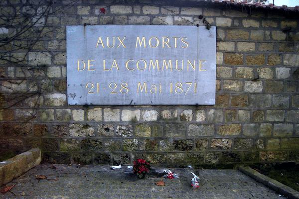 | Mur des Fédérés Père Lachaise Cemetery Paris France | MR Online
