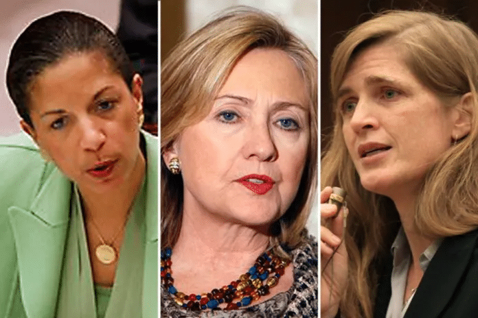   Rice Clinton and Power were the leading war hawks pushing for war in the Obama administration Source saloncom   MR Online