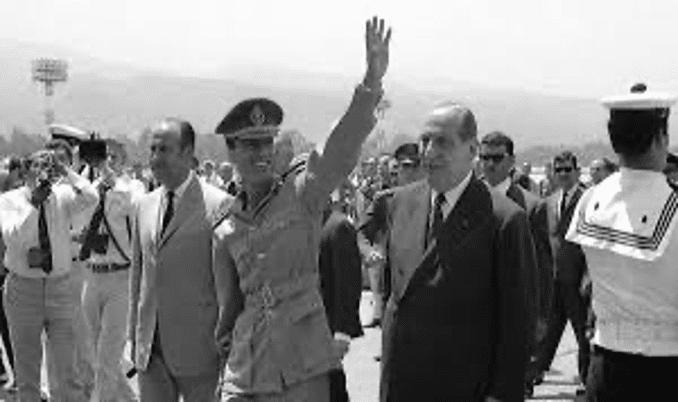   Colonel Qaddafi following the 1969 Libyan Revolution Source sputniknewscom   MR Online