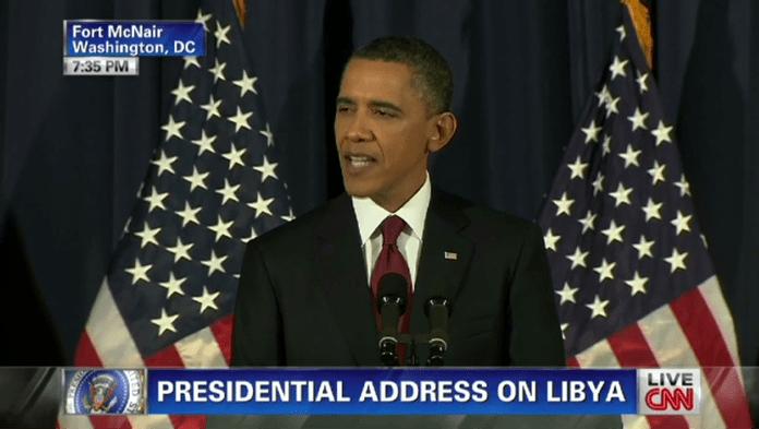   Obama making the case for war on Libya March 28 2011 Source whitehouseblogscom   MR Online