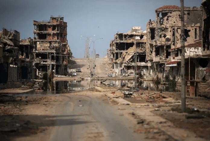   Warravaged Sirte Source archivebostoncom   MR Online