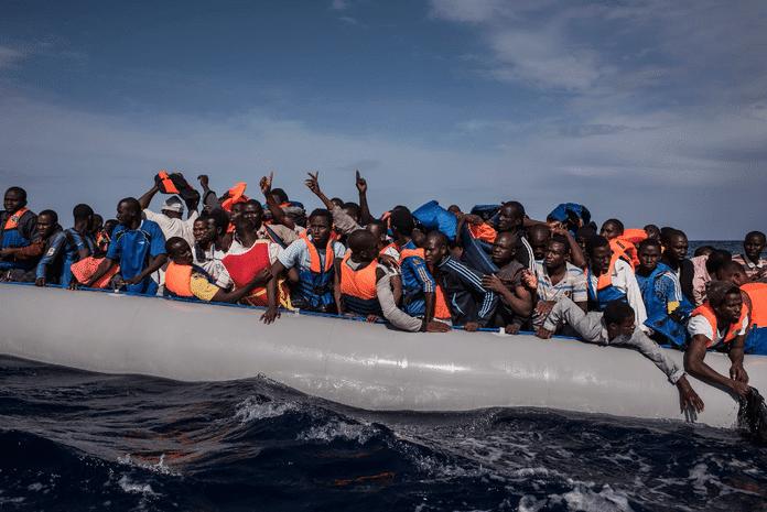   Desperate Libyans undertake a lifethreatening journey across the Mediterranean in an attempt to escape their warravaged land Source journalneoorg   MR Online
