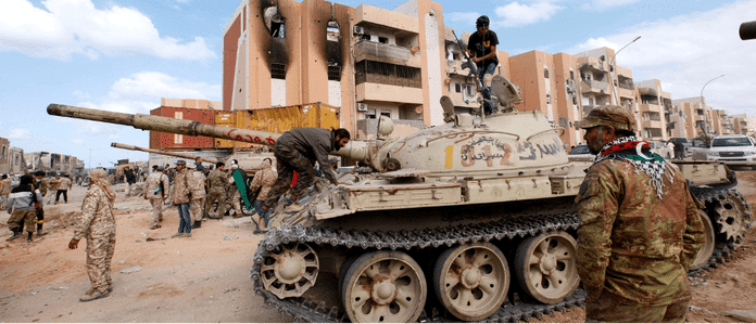   Photo from warravaged Libya ten years after Obama initiated bombing to remove a supposedly evil dictator Source dailycallercom   MR Online