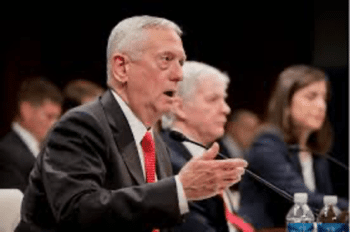 | James Mattis testifies before the Senate Armed Services Committee in 2015 Source washingtontimescom | MR Online