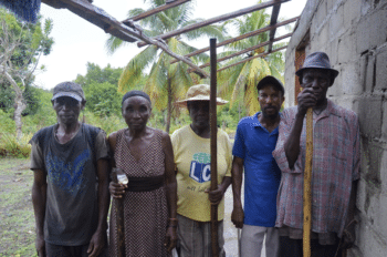 | The farmers of MOPAG have been resisting eviction attempts in Grand Bassin for years Photo Lautaro Rivara | MR Online