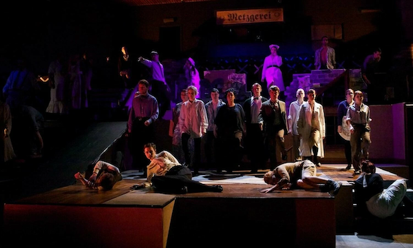 """Bertolt Brecht's Epic Theatre provides an example of what a Marxist theatre could look like. """"Fear and Misery of the Third Reich"""" by Lake Crimson is licensed under CC BY-NC 2.0."""