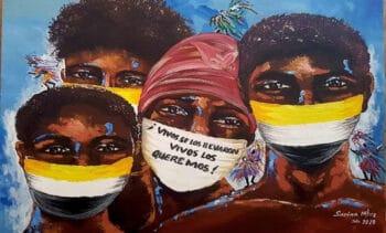 Sarina Martínez, Vivos los llevaron / They took them alive, Honduras, 2020