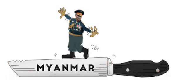 | RUSSIA AND MYANMAR BALANCING ON A KNIFES EDGE | MR Online