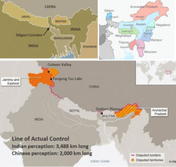 THE STRATEGIC SITUATION MAP OF MYANMAR