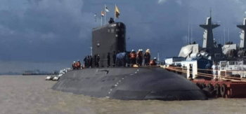 In October 2020, when the Tatmadaw navy conducted its annual exercises, it showed off the UMS Min Ye Thain Kha Thu, a Russian-made attack submarine. This is a Kilo-class vessel, provided by the Indian Navy; it was designed by the Rubin Central Maritime Design Bureau in St. Petersburg.