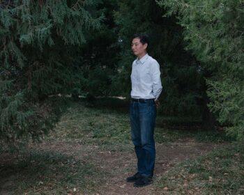 Zhang Boju poses for a photo in Beijing, March 2, 2021. Shi Yangkun/Sixth Tone