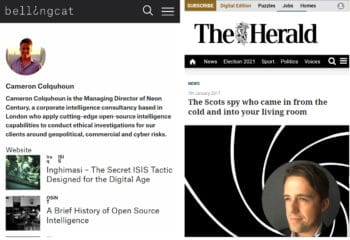 Bellingcat fails to inform its readers of even the most glaring conflicts of interest