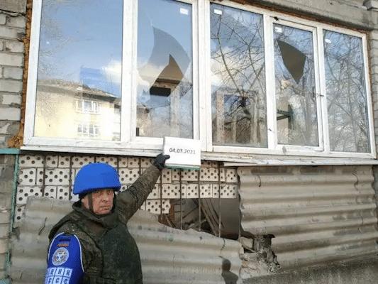 | Aftermath of Ukrainian rocketlauncher attack in Donetsk March 4 Photo Donetsk International | MR Online