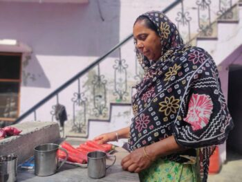 Baljeet Kaur says, the whole village is supporting one another