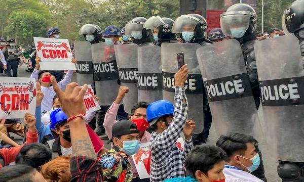 Revolution and counter-revolution in Myanmar