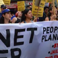 Plant over profit march