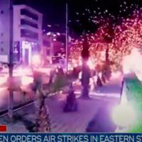Air strike Eastern Syria