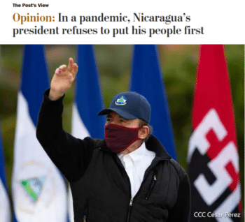 | The Washington Post 8820 attacked Ortegas bizarre and dangerous response to COVID19 citing an unofficial tally of 2537 deaths Almost eight months later the same tally stands at 3014 deathssuggesting that Nicaragua did in fact succeed at limiting the Covid toll | MR Online