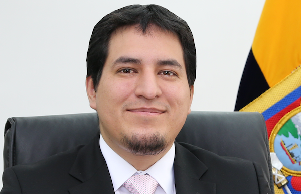 Andrés Arauz in Ecuador's presidential contest
