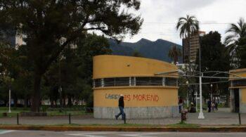 Lasso is [Lenín] Moreno. Photo: Zoe PC