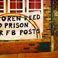Jan 5, 21 Indigenous Activist Faces 10 Years For Facebook Comments: The Case Of Loren Reed (Photo: Its Going Down)