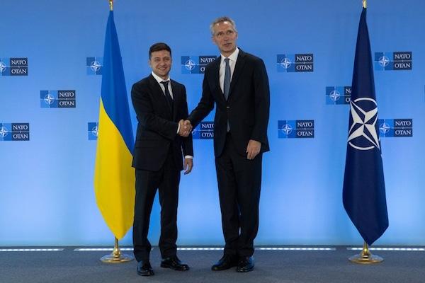 | Ukraines President Volodymyr Zelensky with NATO Secretary General Jens Stoltenberg Photo TwitterZelensky | MR Online