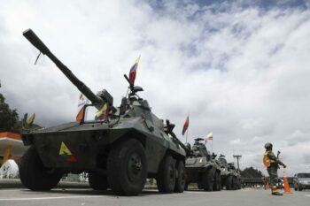 | Colombias military spending is still by far the highest in Latin America Photo AP Fernando Vergara | MR Online