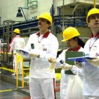 IAEA safeguard inspectors in a 2005 training exercise at Slovakia's Mochovce nuclear power plant. (Dean Calma, IAEA, Flickr)