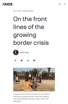 | Phrases like front lines Axios 41121 served to militarize the crisis | MR Online