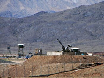 | Antiaircraft guns guarding Irans Natanz nuclear facility in 2006 Hamed Saber CC BY 20 Wikimedia Commons | MR Online