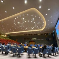 Rashid Khalidi at the UN Security Council on May 27, 2021