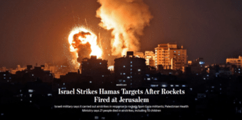 | The Wall Street Journal headline 51021 presents the Gaza violence as a clearcut case of aggression and retaliation | MR Online