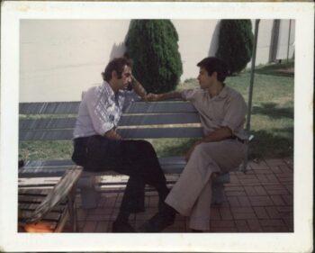 | Dan Ellsberg and Randy Kehler seated on a bench together in 1971 Source ellsbergpapersorg | MR Online