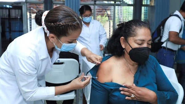 Vaccination against COVID-19 is underway in Nicaragua largely thanks to vaccine donations from Russia. Photo: CCC Jairo Cajina