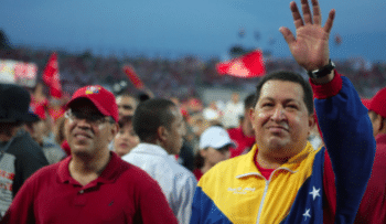 | Hugo Chávez and Elías Jaua HorizonteEnDisputa | MR Online