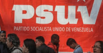 | The entrance to the 2017 PSUV congress PSUV | MR Online