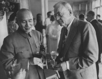 | John Foster Dulles with General Chiang KaiShek The US had supported Chiang during Chinas civil war After his forces lost to the communists the CIA helped set him up as leader of Taiwan prompting the crisis with China which considered Taiwan as part of China Source outriderorg | MR Online