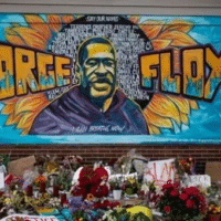 One year ago today, George Floyd was murdered. Like countless others lost to police brutality, he should still be with us. Let's recommit to dismantling racist systems that criminalize & destroy Black lives. | Photo: Twitter @UWBayArea