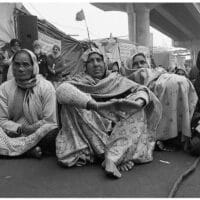 Women farmers from Punjab and Haryana protest at the Tikri border in Delhi, 24 January 2021. Vikas Thakur / Tricontinental: Institute for Social Research