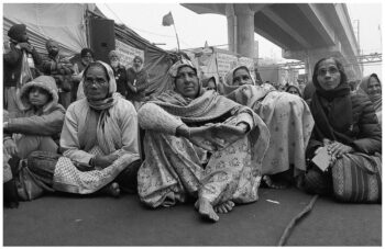 | Women farmers from Punjab and Haryana protest at the Tikri border in Delhi 24 January 2021 Vikas Thakur Tricontinental Institute for Social Research | MR Online