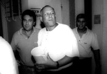 | Yair Klein appears in n Israeli court in 1989 Rachamim Shaul | The National Library of Israel | MR Online