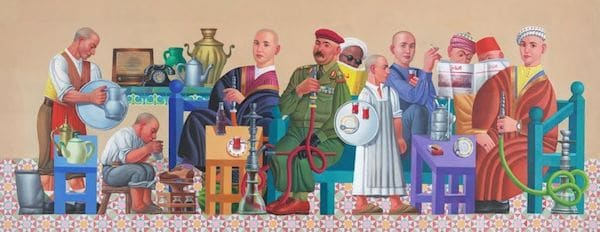 Faisal Laibi Sahi (Iraq), Cafe 2, 2014.