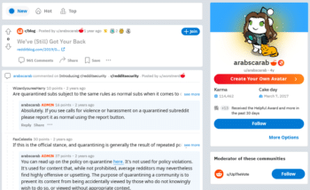   Ashoohs Reddit account which doesnt identify her real identity uses the moniker arabscarab   MR Online