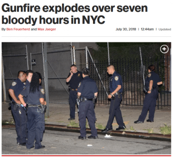 | Its always possible to produce alarming headlines about crimeeven in the safest year in New York City history as the New York Post 73018 demonstrated | MR Online