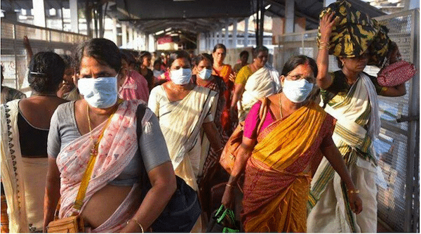 | A womens volunteer brigade organizes mutual aid in Kerala India | MR Online