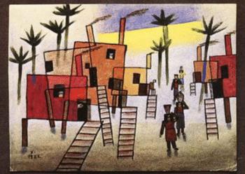 | Xul Solar Argentina Casas en alto 1922 | MR Online