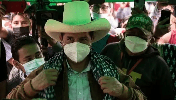 Leftist presidential candidate Pedro Castillo, Peru, June, 2021. | Photo: Twitter/ @PeruNews